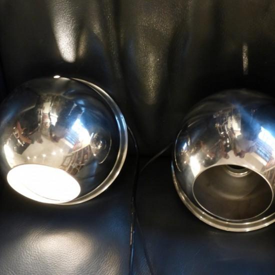luminaire italien en métal