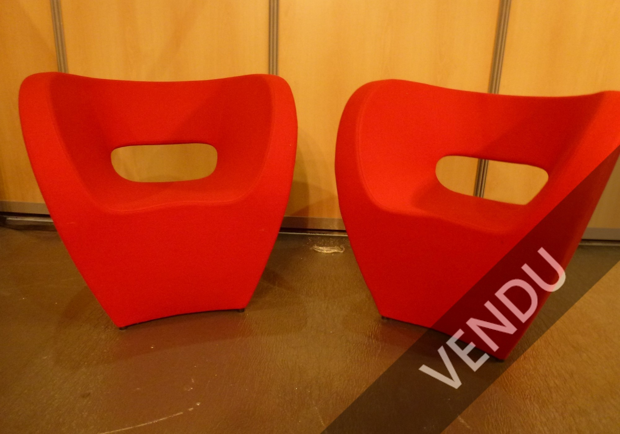 Ron Arad, paire de fauteuils Victoria and Albert, Moroso