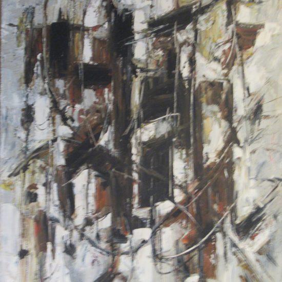 Maurice Mante -Huile sur toile
