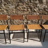 Martin Visser chaises SE05, vers 1960