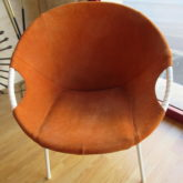 fauteuil corbeille design scandinave sixties