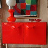 Raymond Loewy, meuble à 2 portes