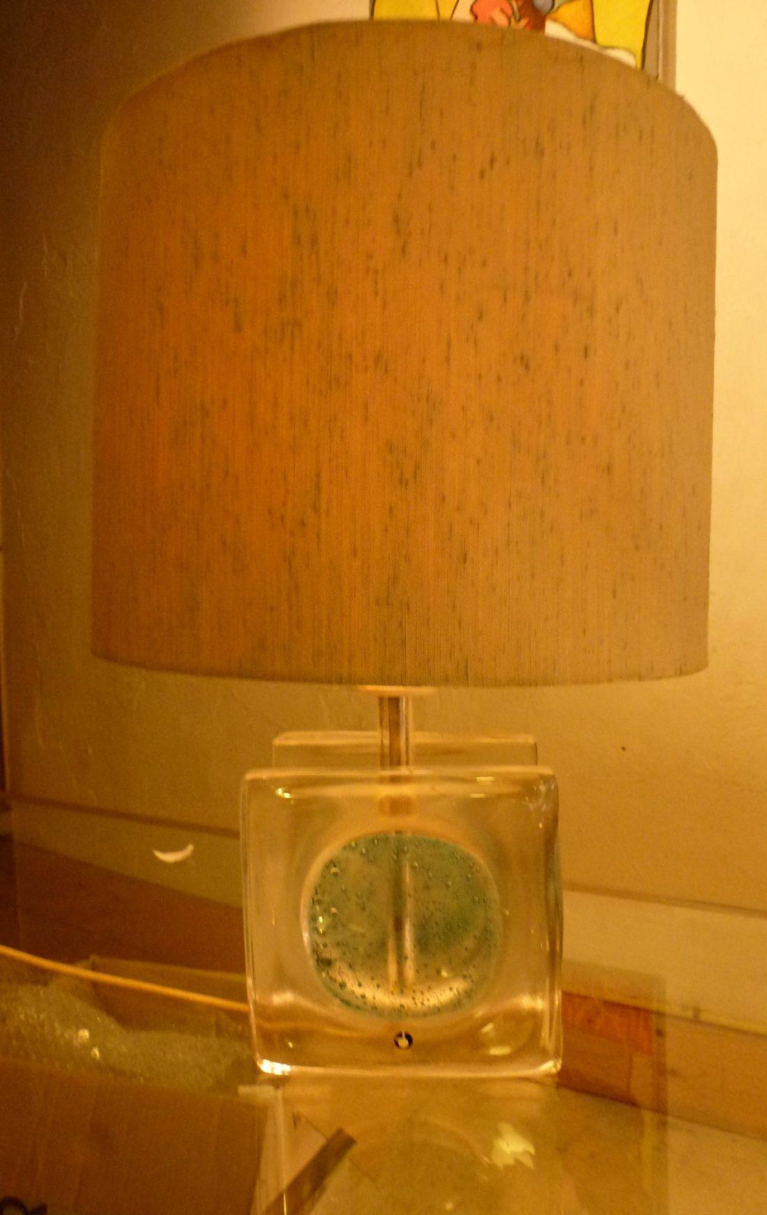 lampe, Pukeberg Suède circa 60