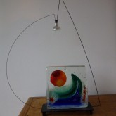 lampe sculpture de Frédéric Morin