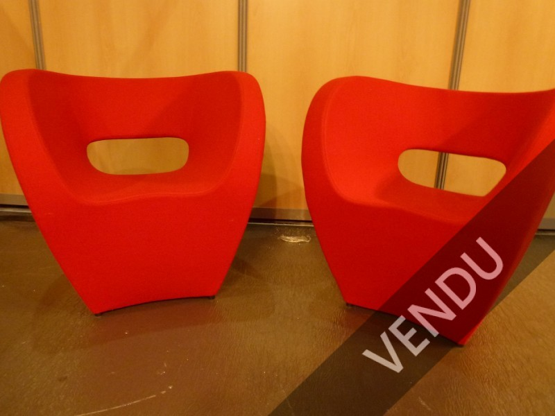 Ron Arad, paire de fauteuils Victoria and Albert, Moroso