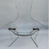 """Harry Bertoia fauteuil """"Bird"""""""