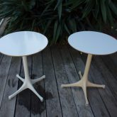 Georges Nelson petites tables éd Herman Miller