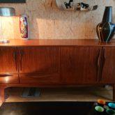 enfilade scandinave, sideboard,teck, sixties