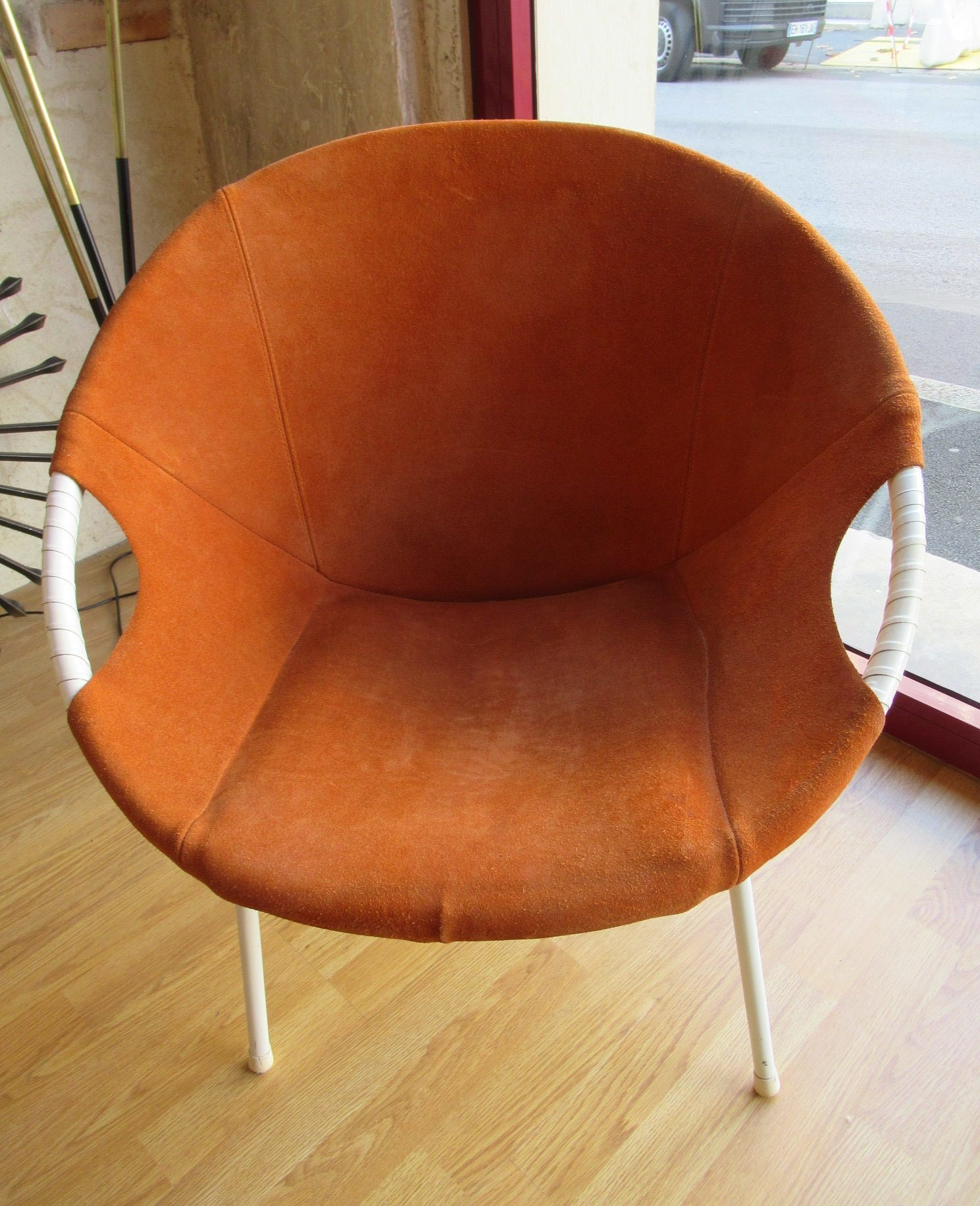 – Design Coeur Fauteuil Scandinave Sixties L'attrape Corbeille bDYeWHIE29